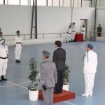 Apresentação da força ao Exm. Vereador da Protecção Civil da Câmara Municipal de Lisboa Dr. Carlos Manuel Castro