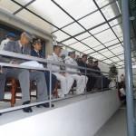 Tribuna das altas entidades que presidem a cerimónia