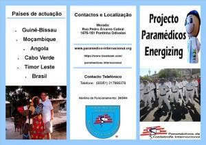 Flyer Projecto Frente