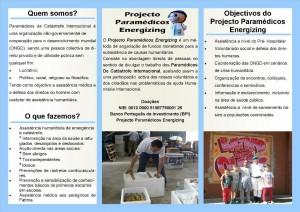 Flyer Projecto Verso