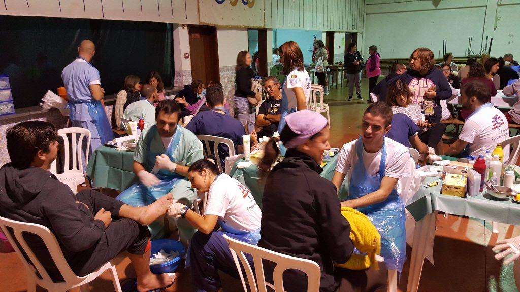 Apoio médico aos peregrinos a Fátima em Minde – Outubro 2015