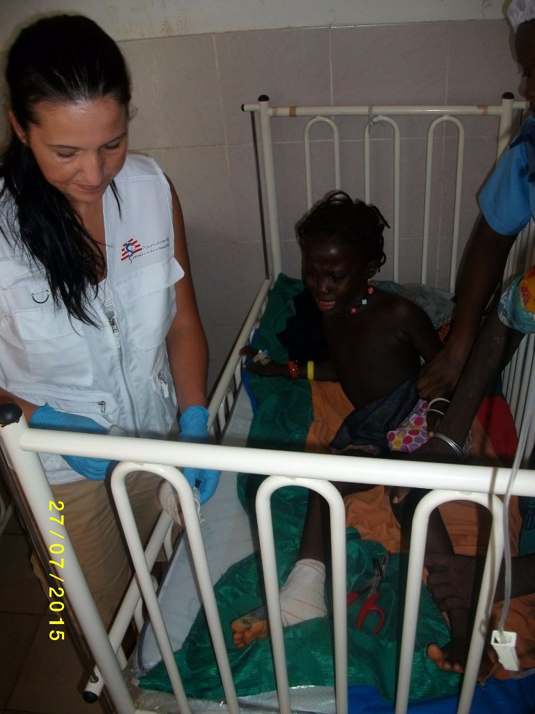 Prestação de cuidados de saúde em Pediatria -Guine Bissau