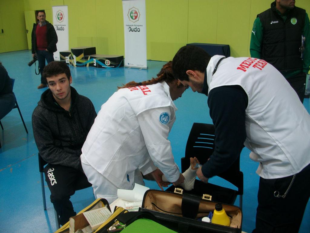 Apoio Médico ao Desporto de Judo