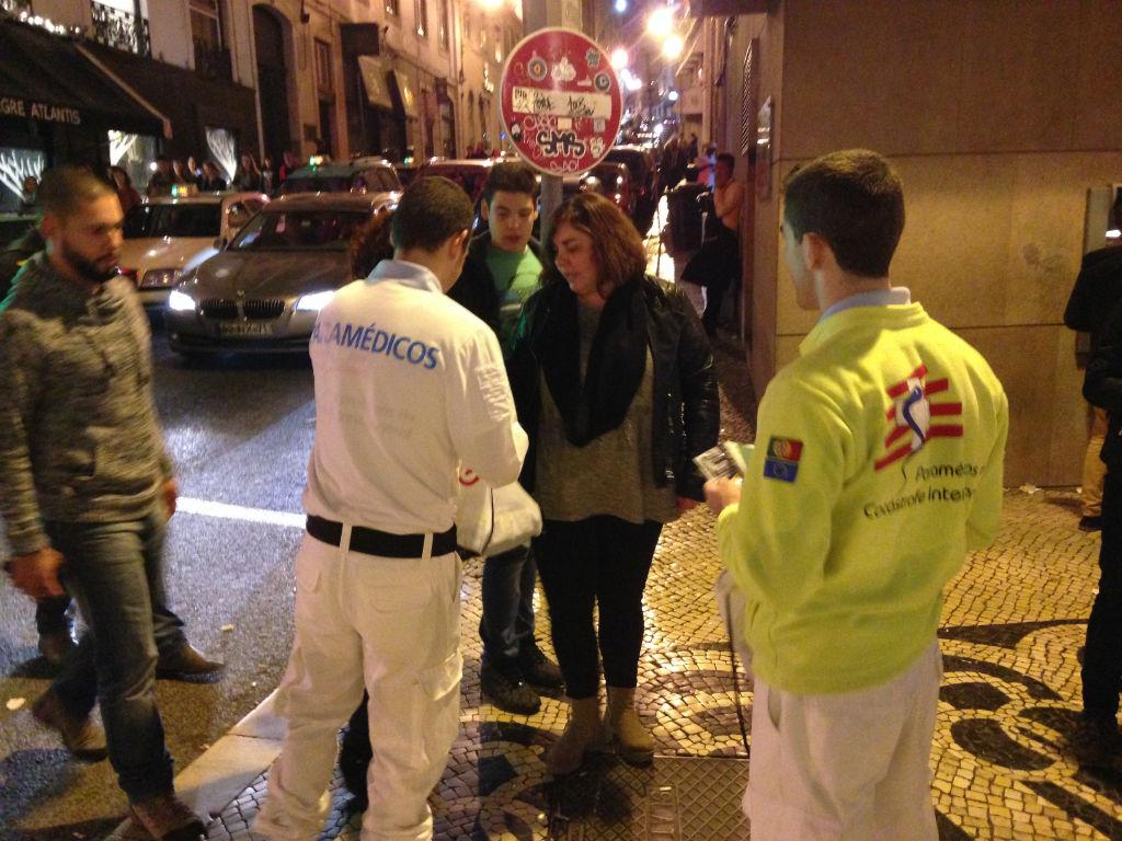 Distribuição de Preservativos nas ruas de Lisboa.