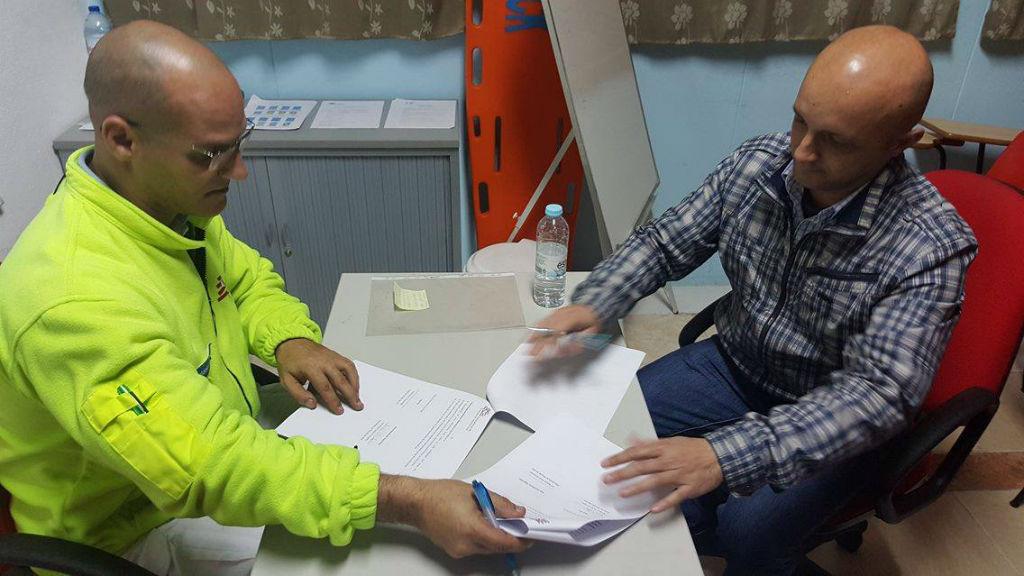 Assinatura do protocolo do apoio aos sem abrigo