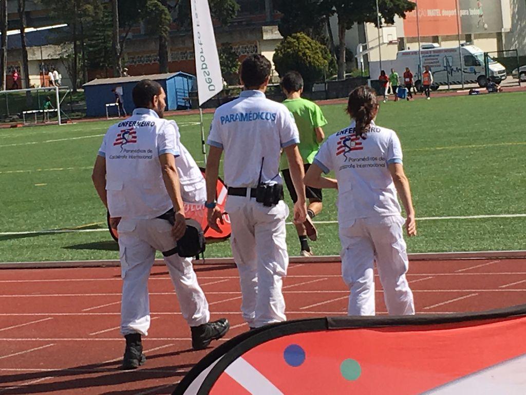 Apoio médico á prevenção de Atletismo