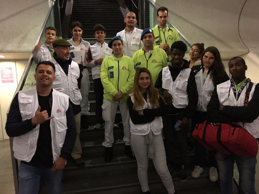 Apoio médico aos sem abrigo nas ruas de Lisboa .