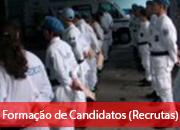 2.3.1 Formação de Candidatos (Recrutas)