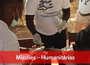 4.1 Missões – Humanitárias